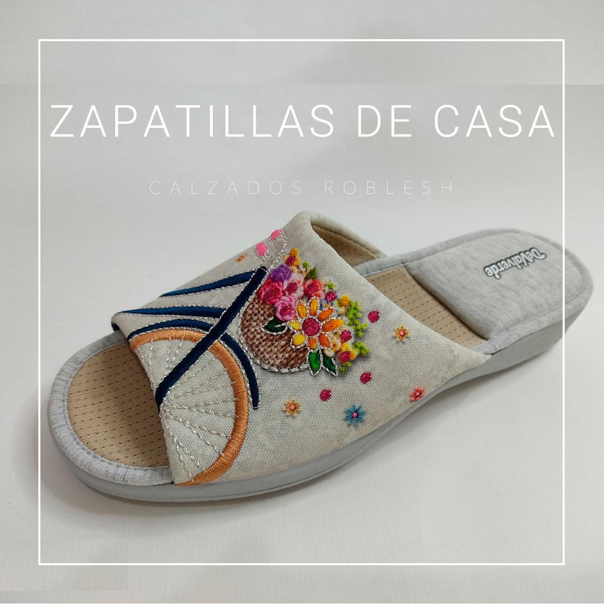 Zapatillas casa nueva colección primavera-verano zapatería Murcia