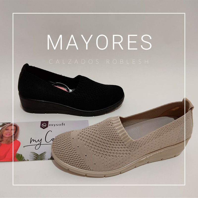 Zapatos para mayores nueva colección verano primavera, zapatería en Murcia