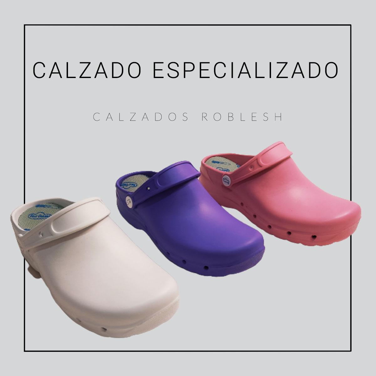 Calzado especializado de venta online a los mejores precios de marcas top Roblesh