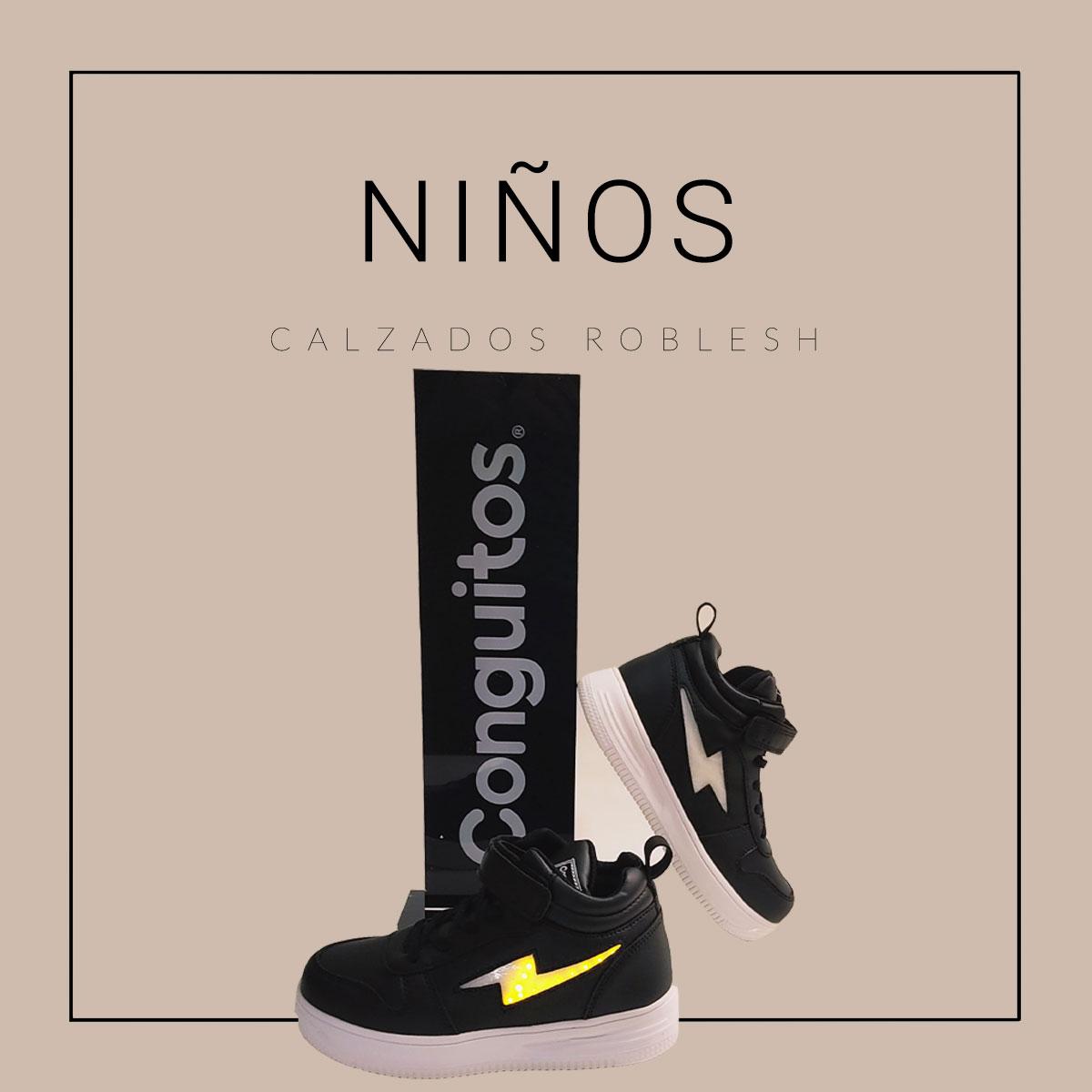 Zapatos para niños otoño/invierno de las mejores marcas online, máxima calidad en Calzados Roblesh