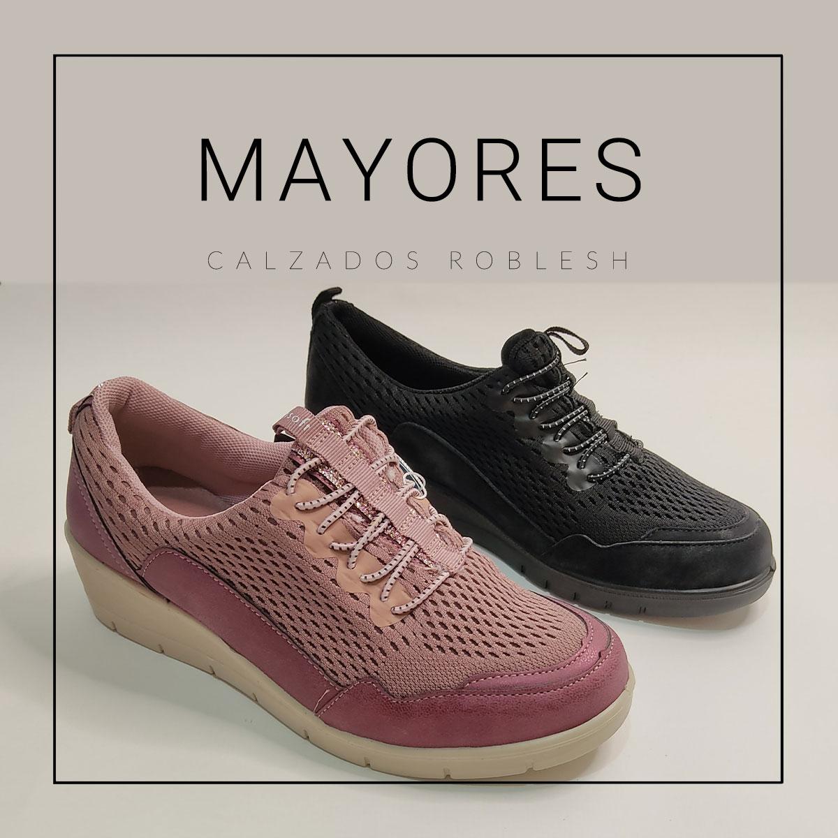 Zapatos para mayores, comodidad y calidad online en Calzados Roblesh
